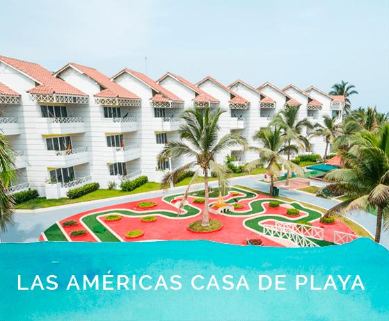 Habitaciones en el hotel las americas Casa de playa