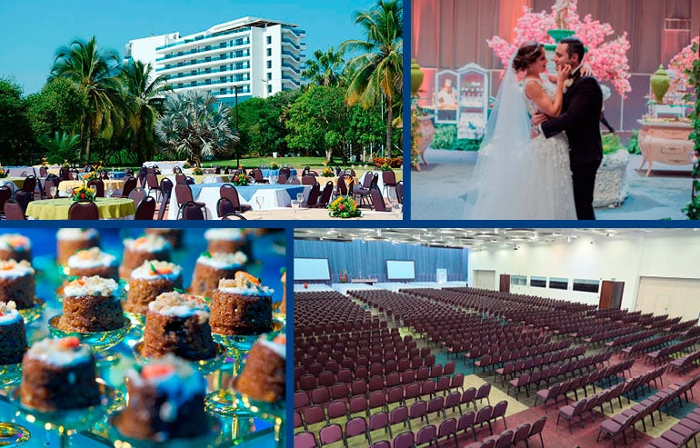 Centro de Convenciones Cartagena en el Hotel Las Américas
