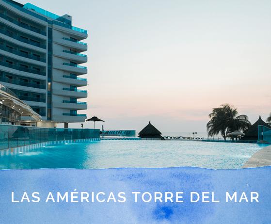 habitaciones en el hotel las americas torre del mar cartagena