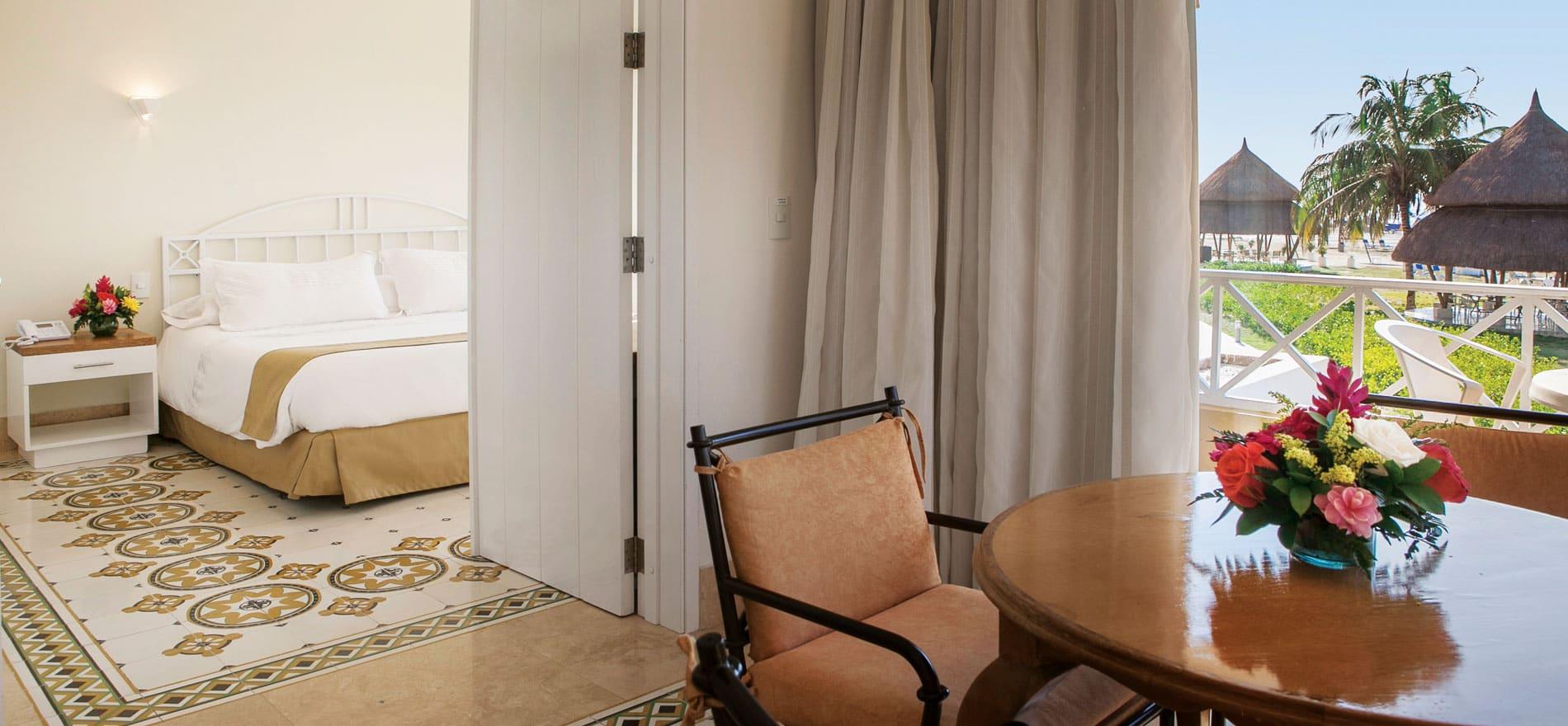 Habitaciones en cartagena Junior Suite en el hotel Casa de Playa
