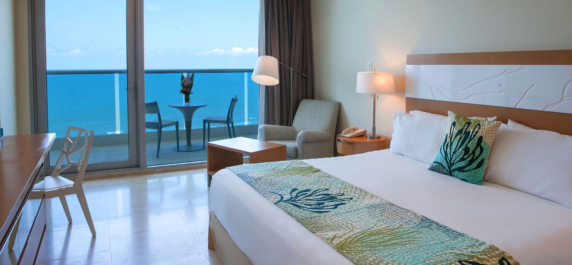 Habitacion en cartagena en el Hotel Torre del Mar Cartagena