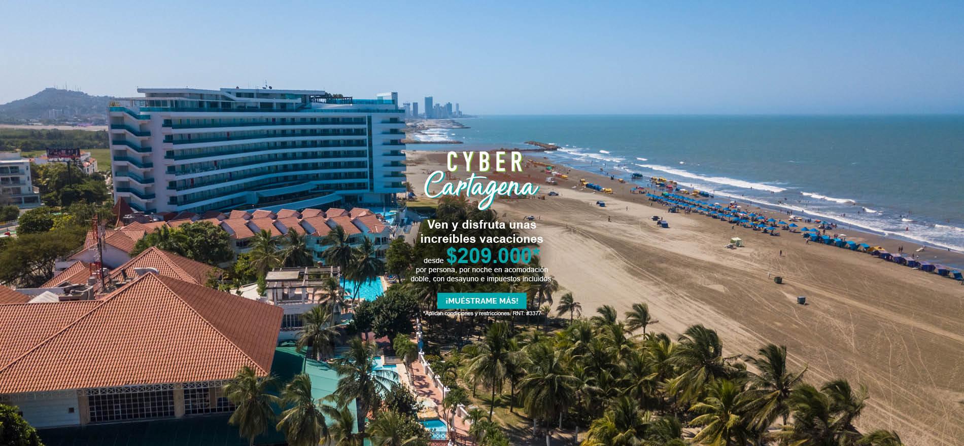 Cyber Cartagena - Hotel las Americas