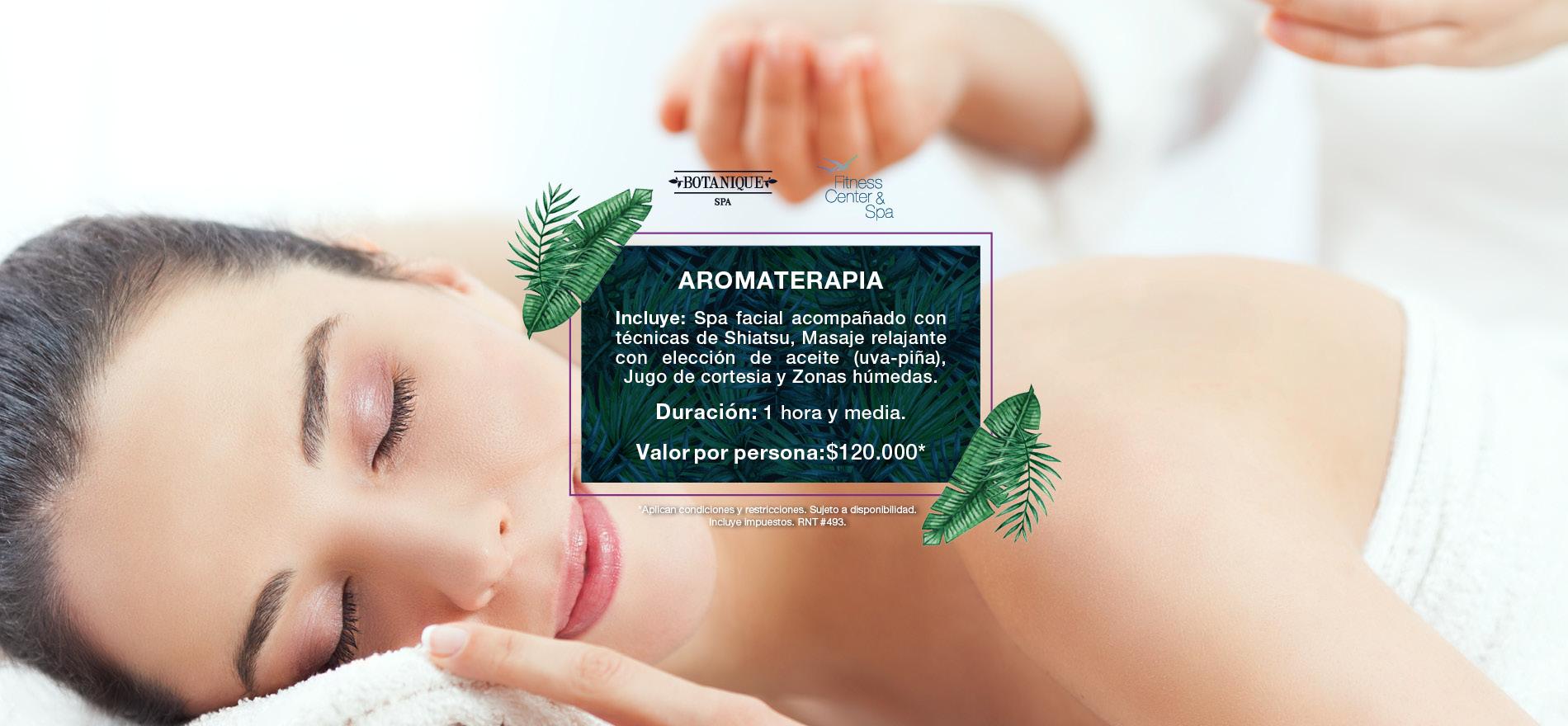 Aromaterapia - Hotel Capilla del Mar
