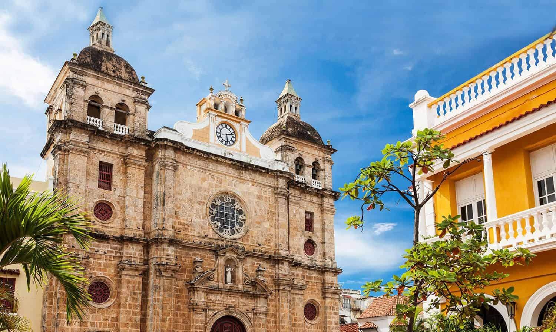 Santuario de San Pedro Claver en Cartagena de Indias.